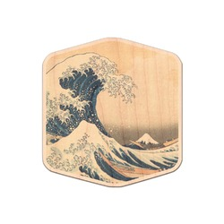 Great Wave of Kanagawa Genuine Wood Sticker