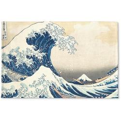 Great Wave of Kanagawa Woven Mat