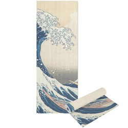 Great Wave of Kanagawa Yoga Mat - Printable Front and Back