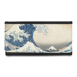 Great Wave of Kanagawa Leatherette Ladies Wallet