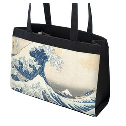 Great Wave of Kanagawa Zippered Everyday Tote