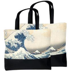 Great Wave off Kanagawa Beach Tote Bag