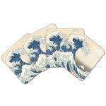 Great Wave off Kanagawa Cork Coaster - Set of 4
