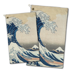 Great Wave off Kanagawa Golf Towel - Full Print