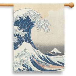 "Great Wave off Kanagawa 28"" House Flag - Double Sided"