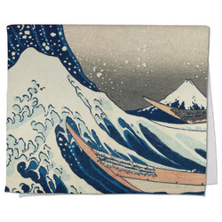 Great Wave off Kanagawa Kitchen Towel - Full Print