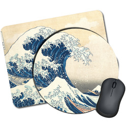 Great Wave off Kanagawa Mouse Pads