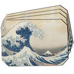 Great Wave off Kanagawa Dining Table Mat - Octagon