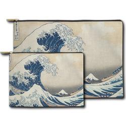 Great Wave off Kanagawa Zipper Pouch