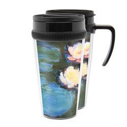 Water Lilies #2 Acrylic Travel Mugs