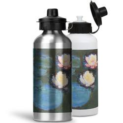 Water Lilies #2 Water Bottles- Aluminum