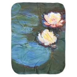 Water Lilies #2 Baby Swaddling Blanket