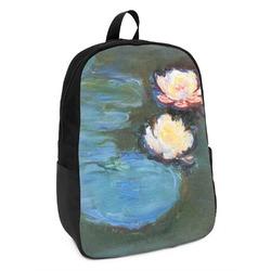 Water Lilies #2 Kids Backpack