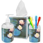 Water Lilies #2 Acrylic Bathroom Accessories Set