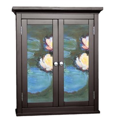 Water Lilies #2 Cabinet Decal - Custom Size