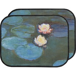 Water Lilies #2 Car Floor Mats (Back Seat)