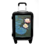 Water Lilies #2 Carry On Hard Shell Suitcase