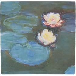 Water Lilies #2 Ceramic Tile Hot Pad