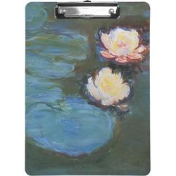 Water Lilies #2 Clipboard