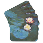 Water Lilies #2 Cork Coaster - Set of 4