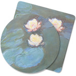 Water Lilies #2 Rubber Backed Coaster