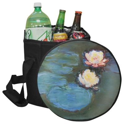Water Lilies #2 Collapsible Cooler & Seat