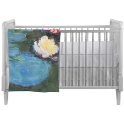 Water Lilies #2 Crib Comforter / Quilt