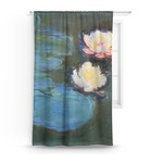 Water Lilies #2 Curtain