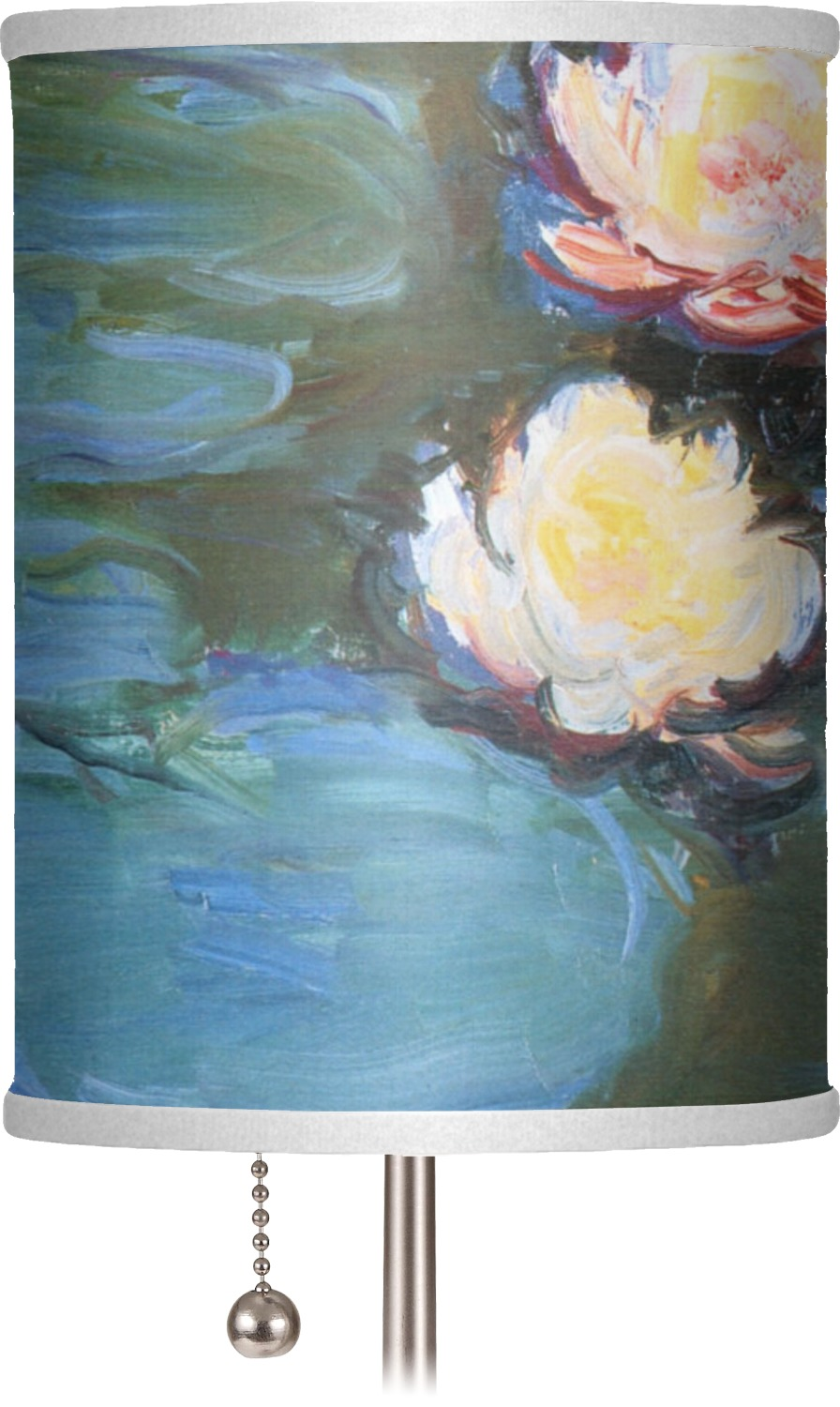 Water Lilies 2 7 Quot Drum Lamp Shade Youcustomizeit