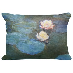 """Water Lilies #2 Decorative Baby Pillowcase - 16""""x12"""""""