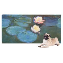 Water Lilies #2 Dog Towel