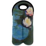 Water Lilies #2 Wine Tote Bag (2 Bottles)