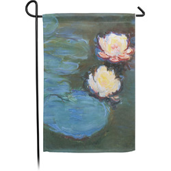 Water Lilies #2 Small Garden Flag - Single Sided