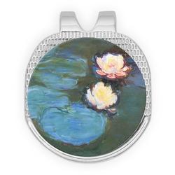 Water Lilies #2 Golf Ball Marker - Hat Clip