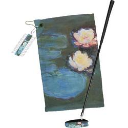 Water Lilies #2 Golf Towel Gift Set