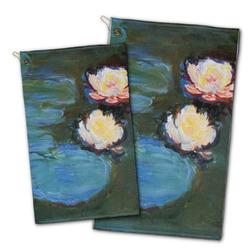 Water Lilies #2 Golf Towel - Full Print