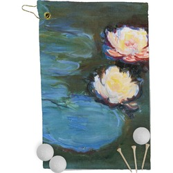 Water Lilies #2 Golf Towel - Full Print