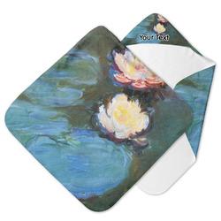 Water Lilies #2 Hooded Baby Towel