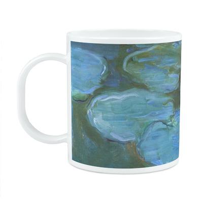 Water Lilies #2 Plastic Kids Mug