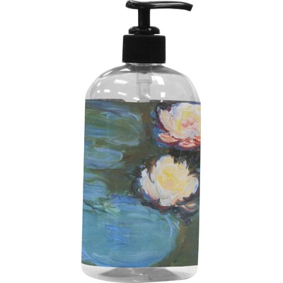 Water Lilies 2 Plastic Soap Lotion Dispenser You