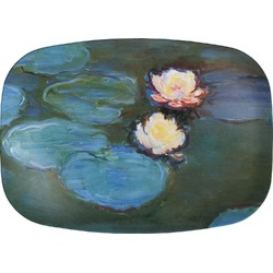 Water Lilies #2 Melamine Platter