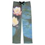 Water Lilies #2 Mens Pajama Pants