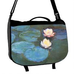 Water Lilies #2 Messenger Bag
