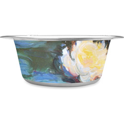 Water Lilies #2 Stainless Steel Pet Bowl