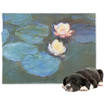 Water Lilies #2 Dog Blanket