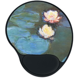 Water Lilies #2 Mouse Pad with Wrist Support