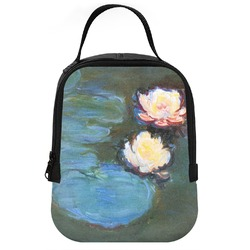 Water Lilies #2 Neoprene Lunch Tote