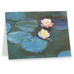 Water Lilies #2 Note cards