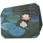 Water Lilies #2 Dining Table Mat - Octagon