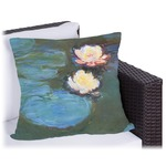 Water Lilies #2 Outdoor Pillow